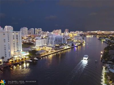 Fort Lauderdale Condo/Townhouse For Sale: 920 Intracoastal Dr. Dr. #602 A