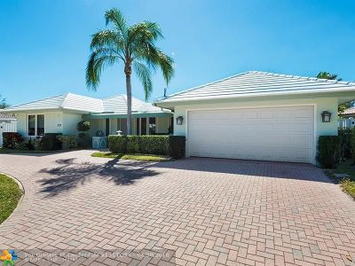 Fort Lauderdale Single Family Home For Sale: 2110 NE 59th Ct