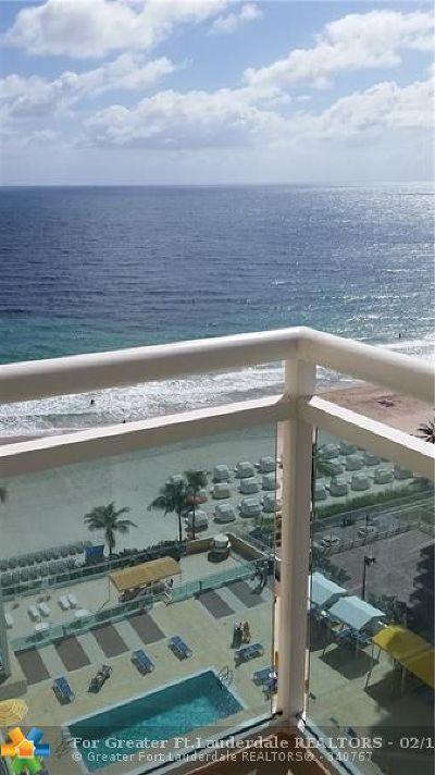 Fort Lauderdale Condo/Townhouse For Sale: 3900 Galt Ocean Drive #1404