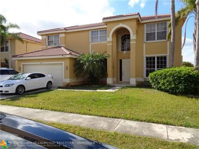 Miramar Single Family Home For Sale: 2366 SW 183rd Ter