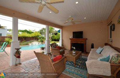 Wilton Manors Single Family Home For Sale: 1819 NE 27 St