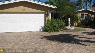 Deerfield, Deerfield Beach Estates 3, Deerfield Beach Estates S, Deerfield Beach Gardens, Deerfield Dev & Land Co S, Deerfield Pines North Con, Deerfield Ridge, Deerfield Ridge Sec 1, Deerfield Ridge Sec 1 38- Single Family Home For Sale: 905 SE 13th Ct