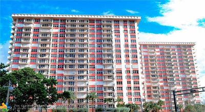 Pompano Beach Condo/Townhouse For Sale: 405 N Ocean Blvd #701