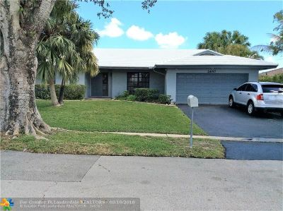 Coral Springs Single Family Home For Sale: 2657 NW 122nd Ave