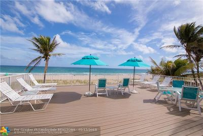 Lauderdale By The Sea Condo/Townhouse For Sale: 4520 El Mar Dr #23