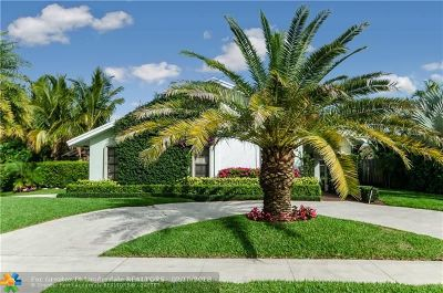 Delray Beach Single Family Home For Sale: 653 NW 45th Dr