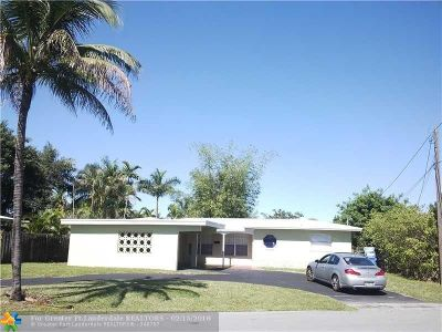 Oakland Park Single Family Home For Sale: 1961 NW 32nd Ct