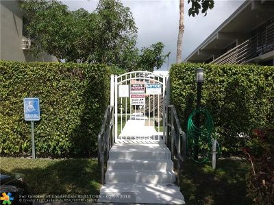 Fort Lauderdale Condo/Townhouse For Sale: 901 N Birch Rd #A3