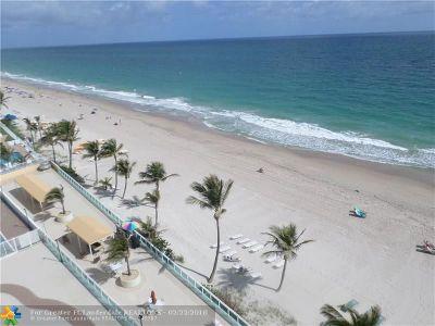 Fort Lauderdale Condo/Townhouse For Sale: 3900 Galt Ocean Dr #817