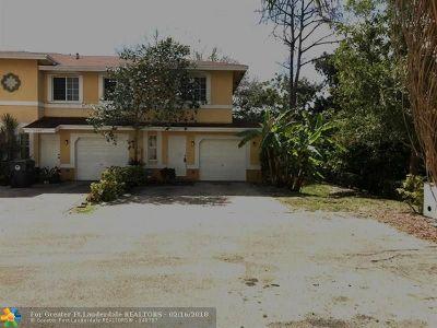 North Lauderdale Condo/Townhouse Backup Contract-Call LA: 1377 Avon Lane #1377