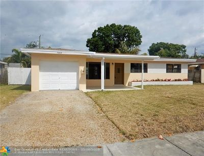Fort Lauderdale Single Family Home For Sale: 3441 SW 18th St