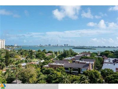 Miami Condo/Townhouse For Sale: 1000 Quayside Ter #1107