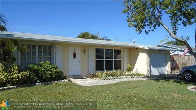 Sunrise Single Family Home Backup Contract-Call LA: 3811 NW 113th Ave