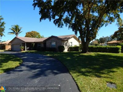 Coral Springs Single Family Home Backup Contract-Call LA: 2561 NW 115th Dr