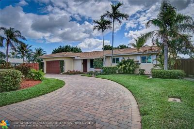 Lighthouse Point Single Family Home Backup Contract-Call LA: 2550 NE 45th St