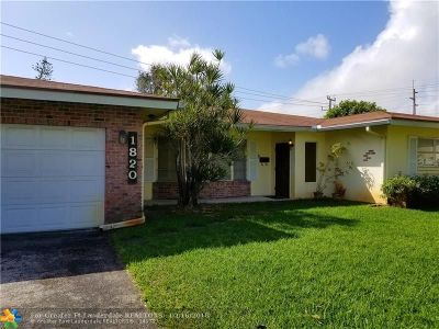 Fort Lauderdale Single Family Home For Sale: 1820 NE 56th Ct