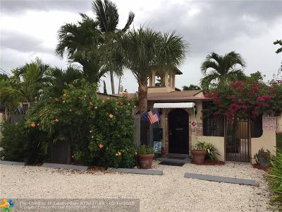 Fort Lauderdale Multi Family Home For Sale: 1821 N Dixie Hwy