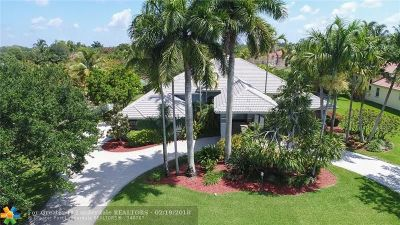 Davie Single Family Home For Sale: 11351 SW 25th Ct