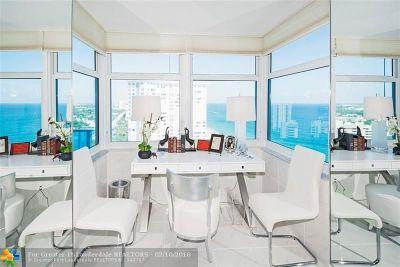 Pompano Beach Condo/Townhouse For Sale: 1360 S Ocean Blvd #2107