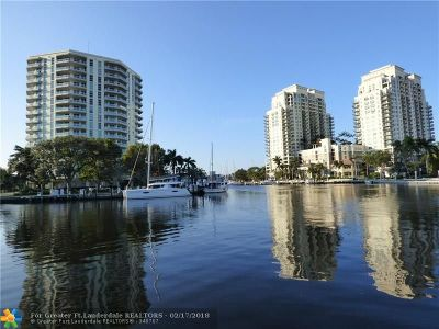 Fort Lauderdale Condo/Townhouse For Sale: 401 SW 4th Ave #1502