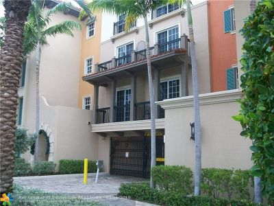 Lauderdale By The Sea Condo/Townhouse For Sale: 4444 El Mar Dr #3302