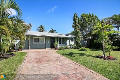 Oakland Park Single Family Home For Sale: 501 NW 37th St