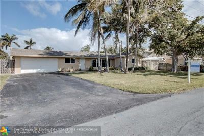 Pompano Beach Single Family Home For Sale: 911 NE 8th St