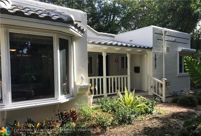 Fort Lauderdale Single Family Home For Sale: 1617 SE 2nd Ct