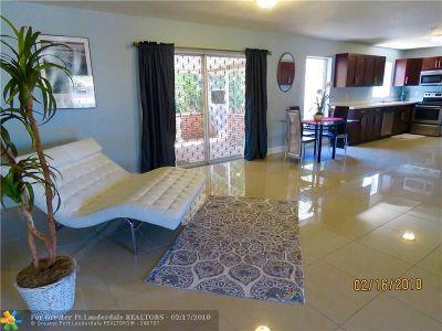 Pompano Beach Single Family Home For Sale: 3451 NE 12th Ter