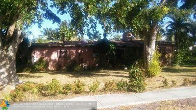 Hallandale Single Family Home For Sale