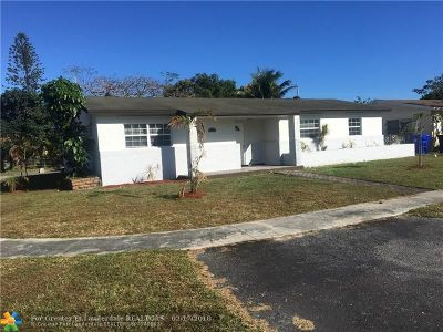 North Lauderdale Single Family Home For Sale: 510 SW 72nd Ave