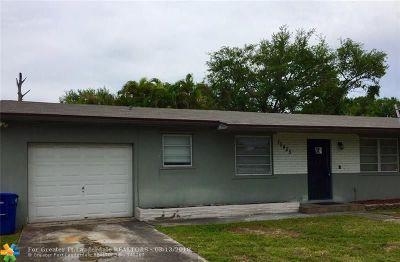 Miami Single Family Home For Sale: 15455 N Miami Ave