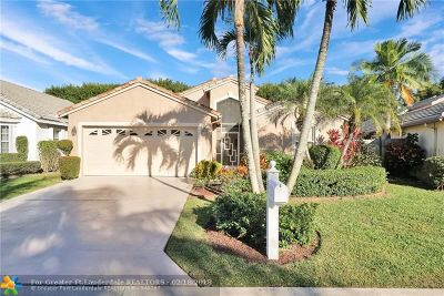 Delray Beach Single Family Home For Sale: 7534 Ironbridge Cir