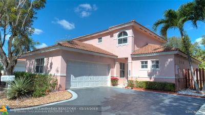 Coconut Creek Single Family Home For Sale: 4749 NW 7th Mnr