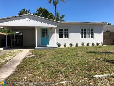 Fort Lauderdale Single Family Home For Sale: 1212 NE 13th Ave