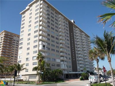 Pompano Beach Condo/Townhouse For Sale: 133 N Pompano Beach Blvd #509