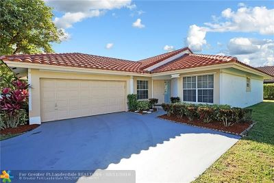 Coral Springs Single Family Home Backup Contract-Call LA: 10440 NW 9th Mnr