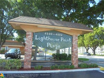Lighthouse Point Condo/Townhouse For Sale: 4502 N Federal Hwy #220C
