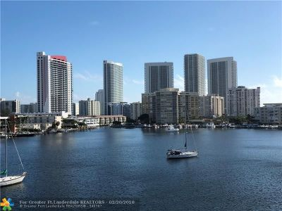 Hallandale Condo/Townhouse For Sale: 430 Golden Isles Dr #506