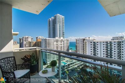 Hollywood Condo/Townhouse For Sale: 3000 S Ocean Dr #1614
