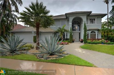 Plantation Single Family Home For Sale: 710 NW 101st Terrace