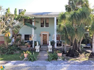 Wilton Manors Multi Family Home For Sale: 114-124 NW 25th Street