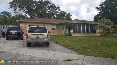 Fort Lauderdale Single Family Home For Sale: 372 E Dayton Cir