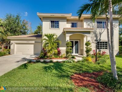 Coral Springs Single Family Home For Sale: 3943 Wild Lime Ln