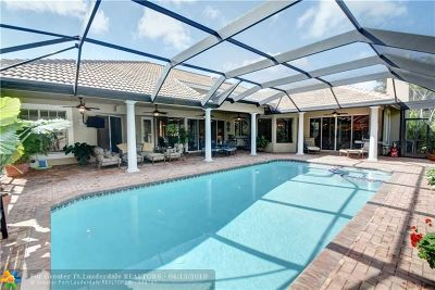 Coral Springs Single Family Home For Sale: 1855 Colonial Dr