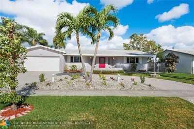 Coconut Creek Single Family Home For Sale: 4411 NW 9th St