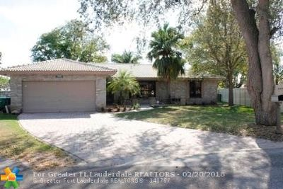 Coral Springs Single Family Home For Sale: 2148 NW 99th Way