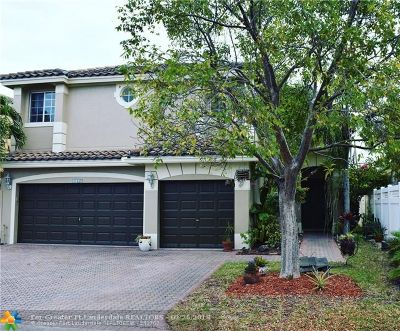 Coral Springs Single Family Home For Sale: 4615 NW 121st Ave