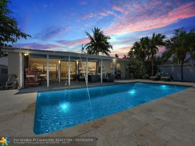 Fort Lauderdale Single Family Home For Sale: 905 Avocado Isle