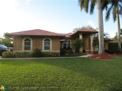 Parkland Single Family Home For Sale: 6659 NW 72 Place